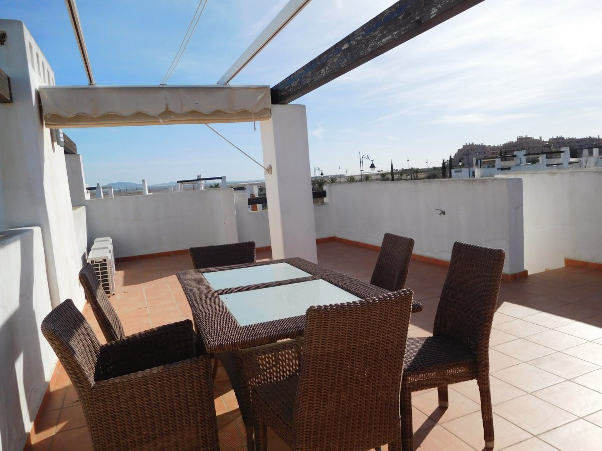 Gallery Image 19 of 2 bedroom corner apartment with ample private roof terrace, on Naranjos 2