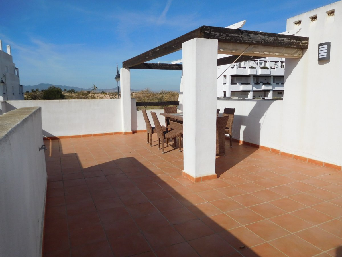 Gallery Image 2 of 2 bedroom corner apartment with ample private roof terrace, on Naranjos 2
