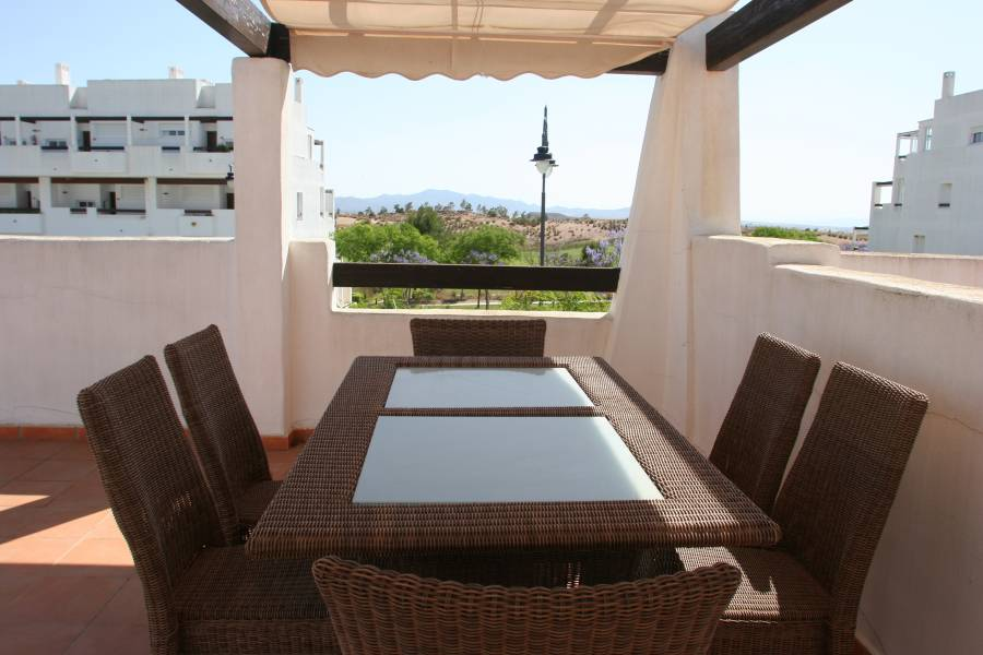 Gallery Image 30 of 2 bedroom corner apartment with ample private roof terrace, on Naranjos 2