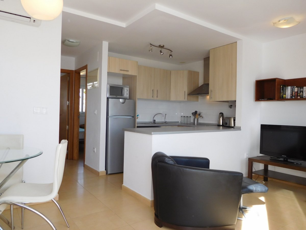 Gallery Image 8 of 2 bedroom corner apartment with ample private roof terrace, on Naranjos 2