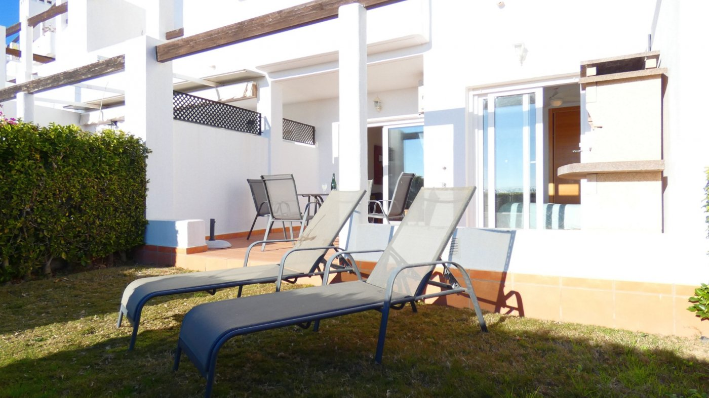 Gallery Image 25 of NEW ON THE MARKET! Front line golf ground floor apartment at Condado de Alhama for sale