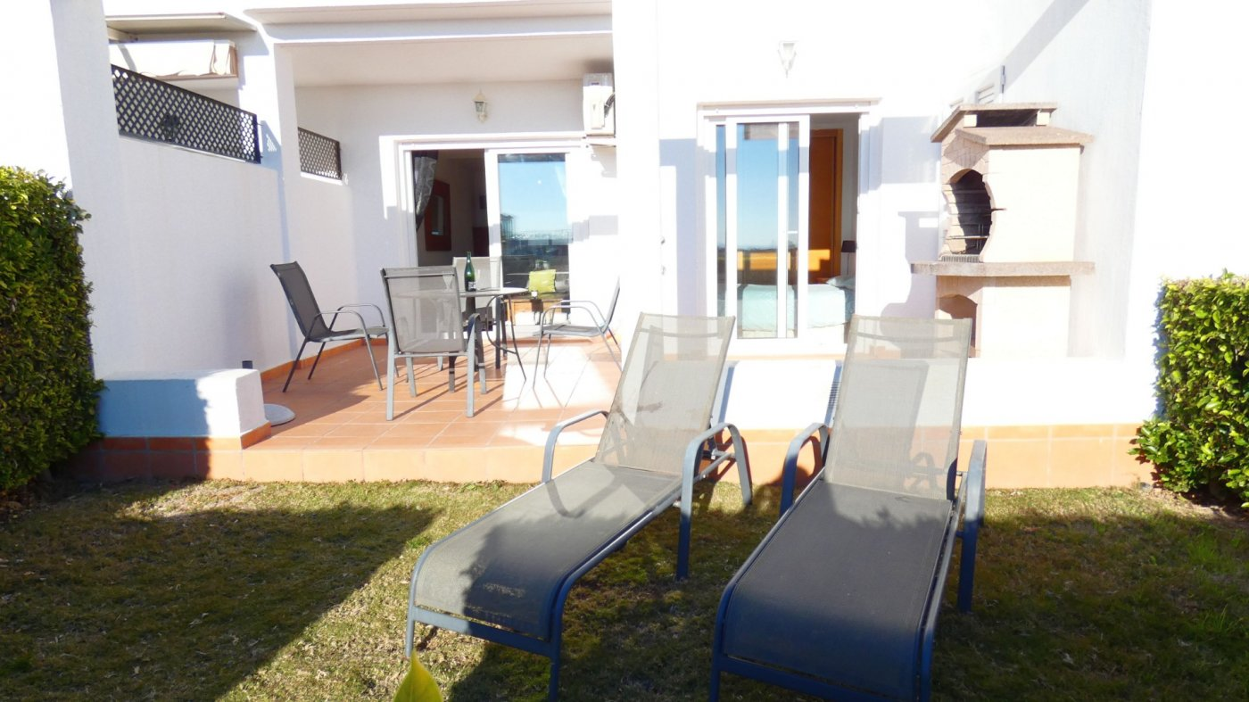 Gallery Image 2 of NEW ON THE MARKET! Front line golf ground floor apartment at Condado de Alhama for sale