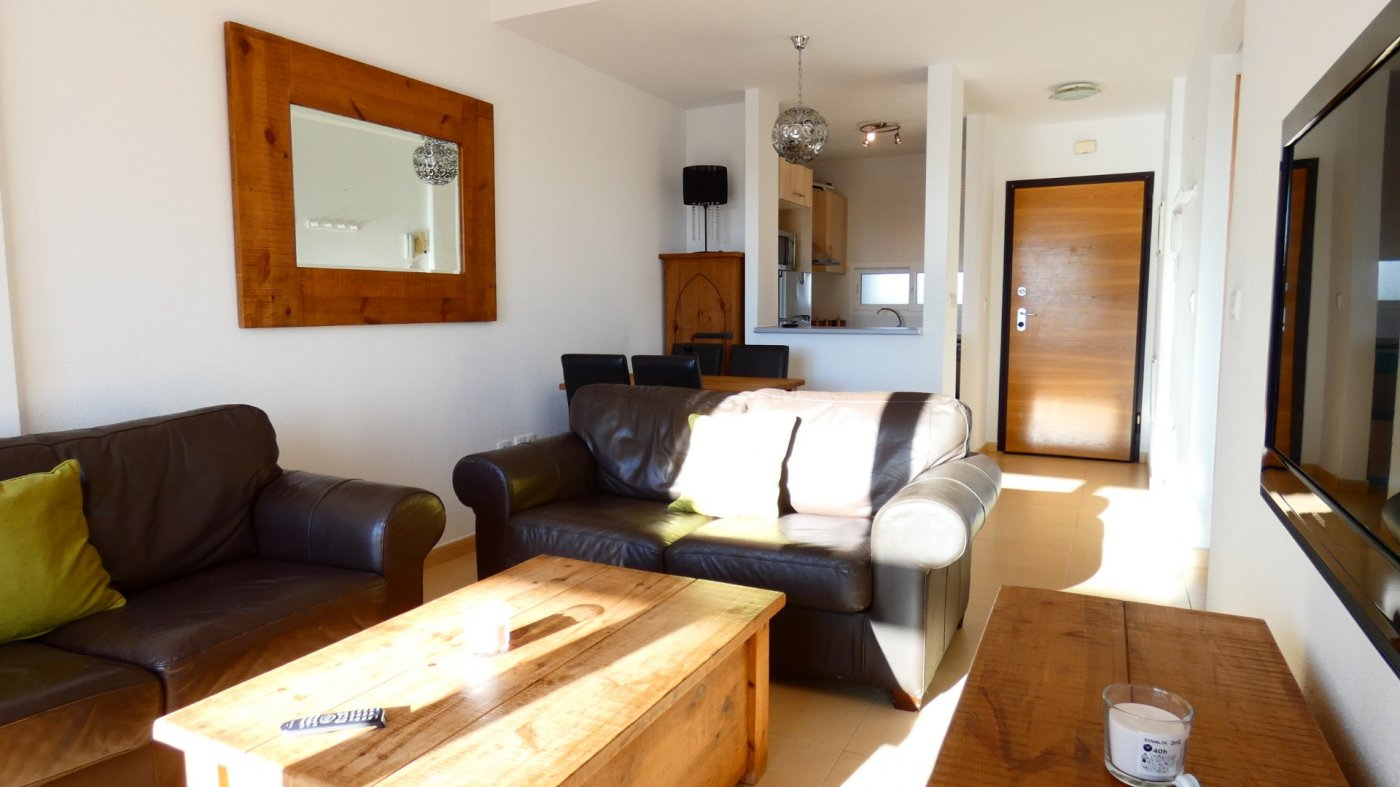 Gallery Image 5 of NEW ON THE MARKET! Front line golf ground floor apartment at Condado de Alhama for sale