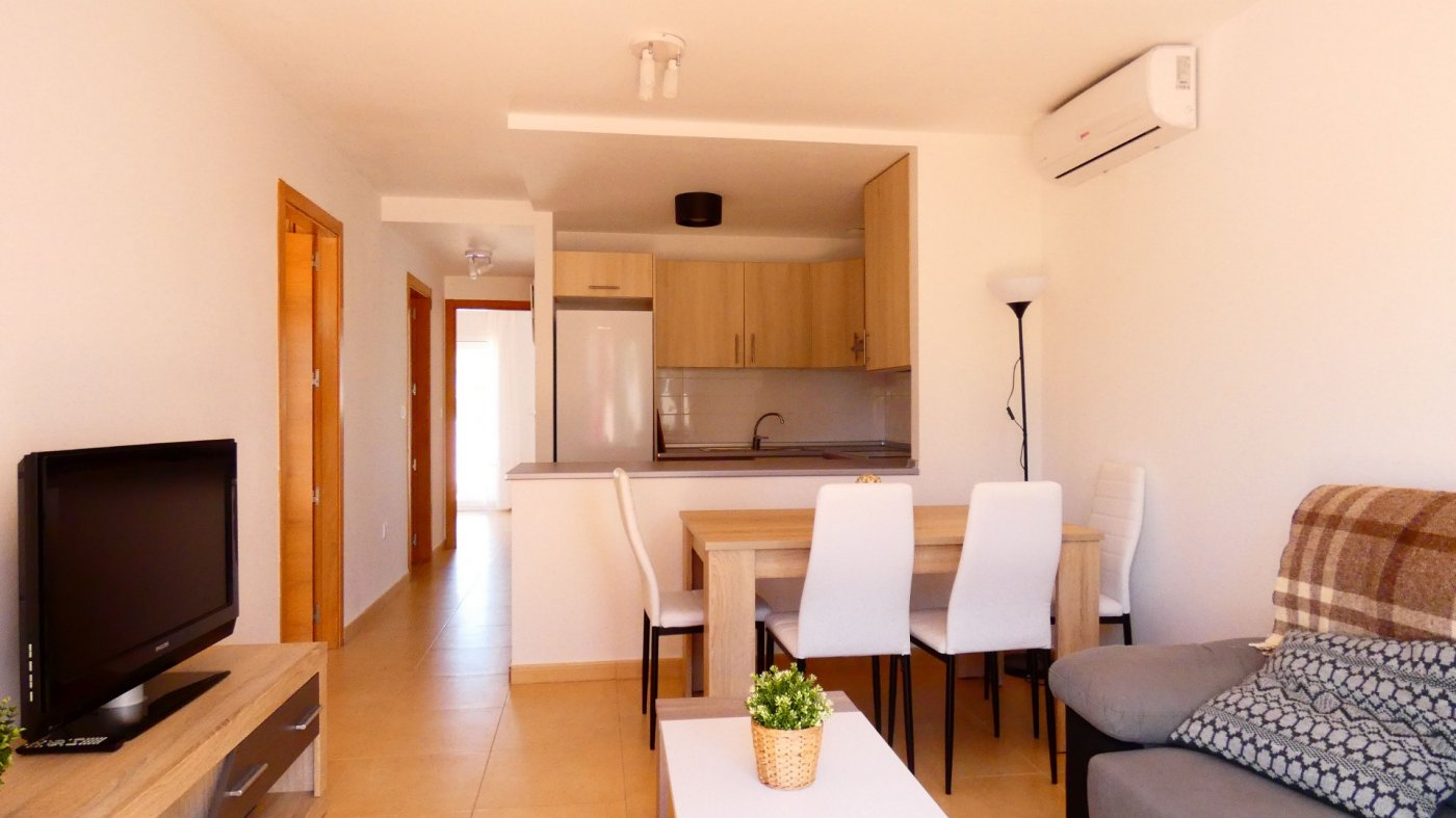 Gallery Image 1 of New Bright and Modern South Facing 3 Bedroom Ground Floor Apartment in Jardin 1, Condado de Alhama