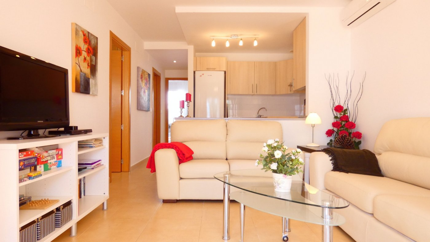 Gallery Image 5 of Immaculate South West Facing 3 Bedroom Ground Floor Corner Apartment in Jardin 4, Condado de Alhama