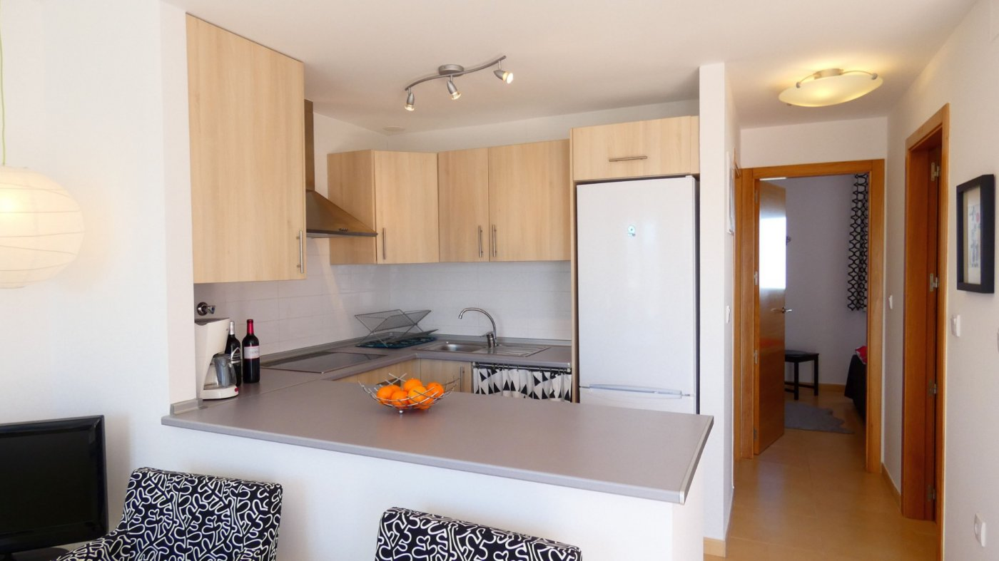 Gallery Image 20 of Immaculate 2 Bedroom Apartment with Pool Views and Roof Terrace in Jardin 11, Condado de Alhama