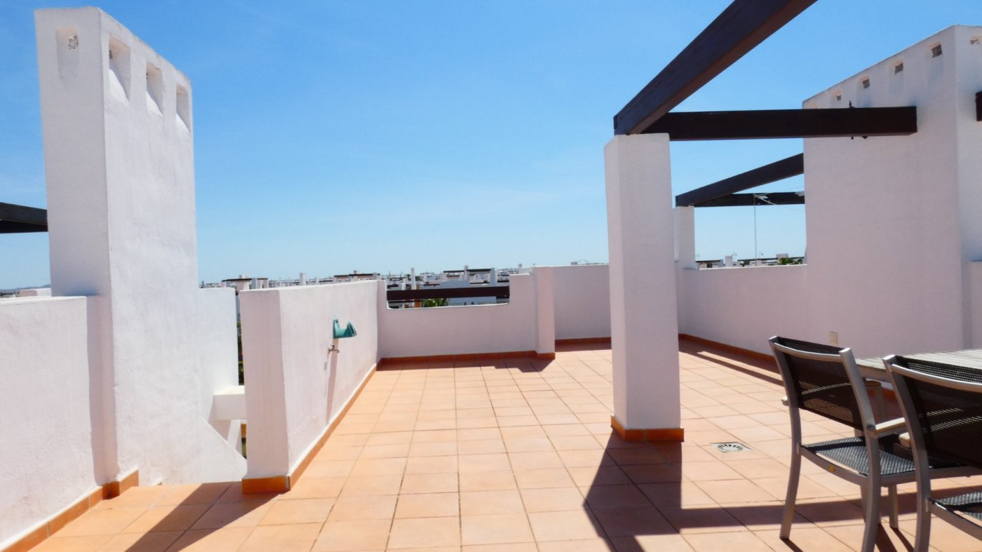 Gallery Image 26 of Immaculate 2 Bedroom Apartment with Pool Views and Roof Terrace in Jardin 11, Condado de Alhama