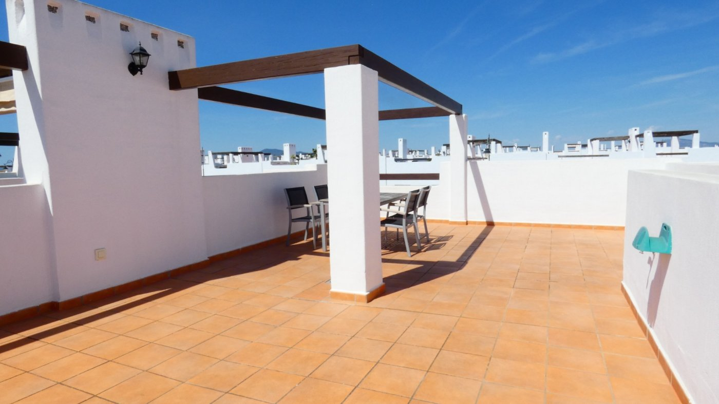 Gallery Image 27 of Immaculate 2 Bedroom Apartment with Pool Views and Roof Terrace in Jardin 11, Condado de Alhama