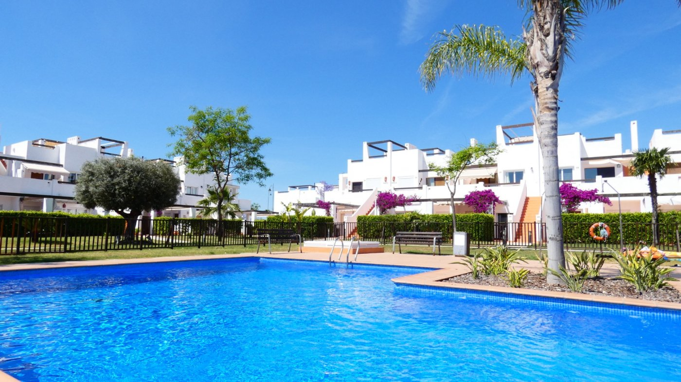 Gallery Image 30 of Immaculate 2 Bedroom Apartment with Pool Views and Roof Terrace in Jardin 11, Condado de Alhama