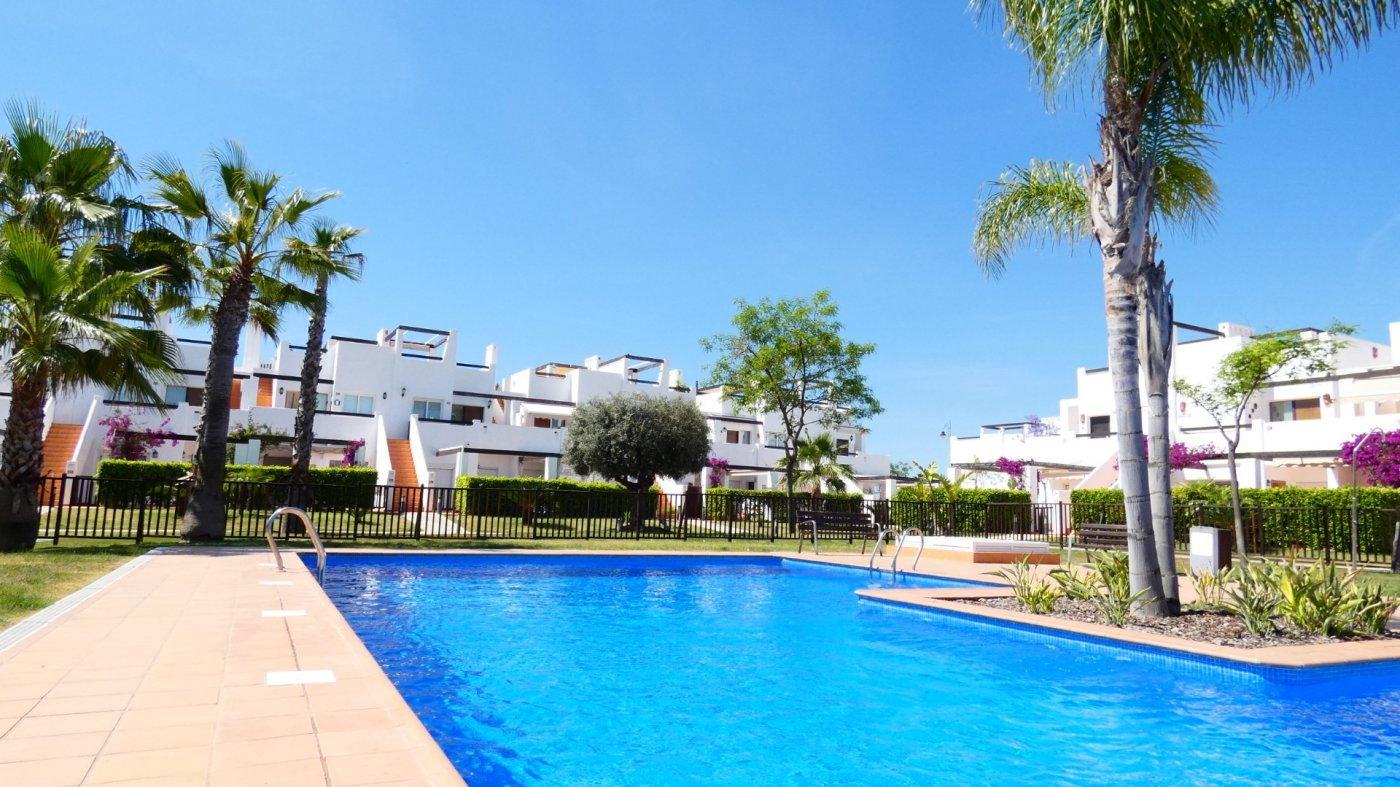 Gallery Image 32 of Immaculate 2 Bedroom Apartment with Pool Views and Roof Terrace in Jardin 11, Condado de Alhama