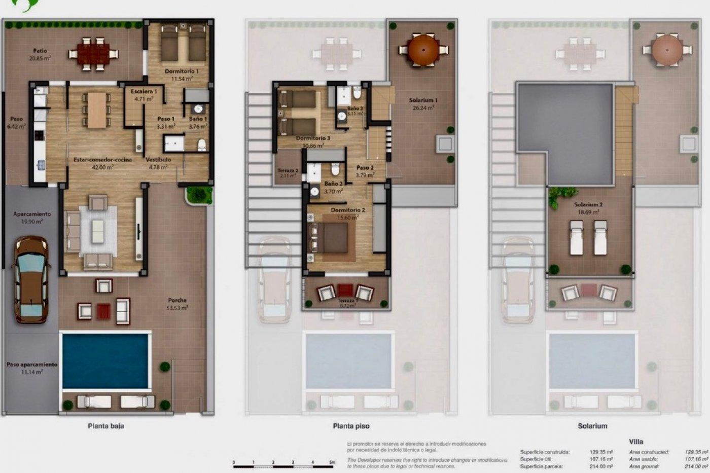 Galleribillede 5 of Nybygget moderne villa med egen pøl på Roda Golf