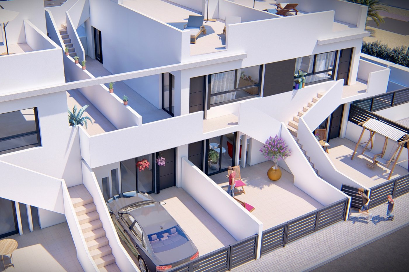 Gallery Image 11 of New build top floor apartment with 55 m2 solarium only 7 min walk from the beaches