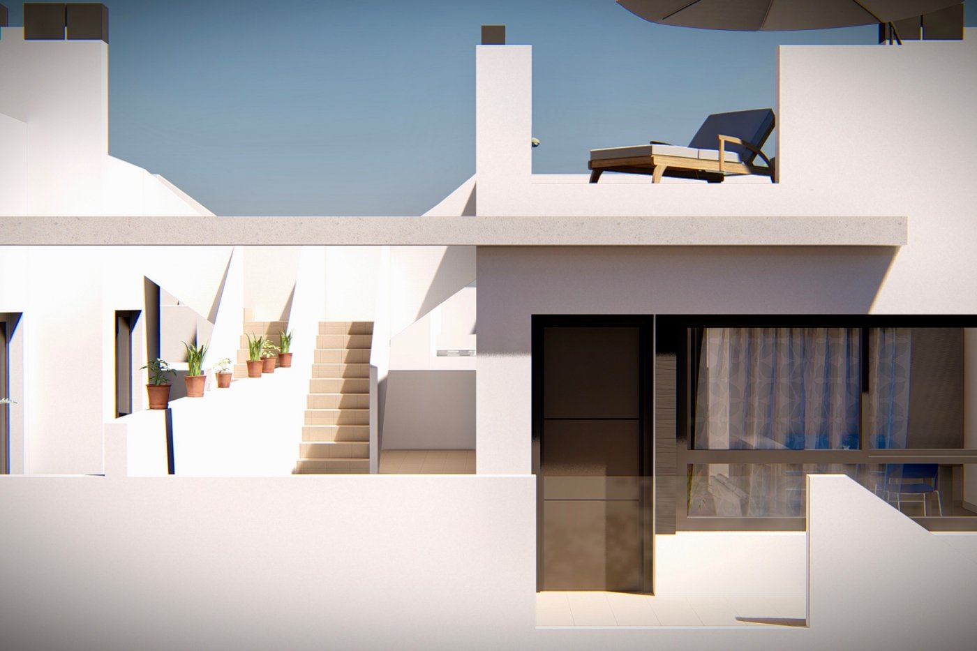 Gallery Image 12 of New build top floor apartment with 55 m2 solarium only 7 min walk from the beaches