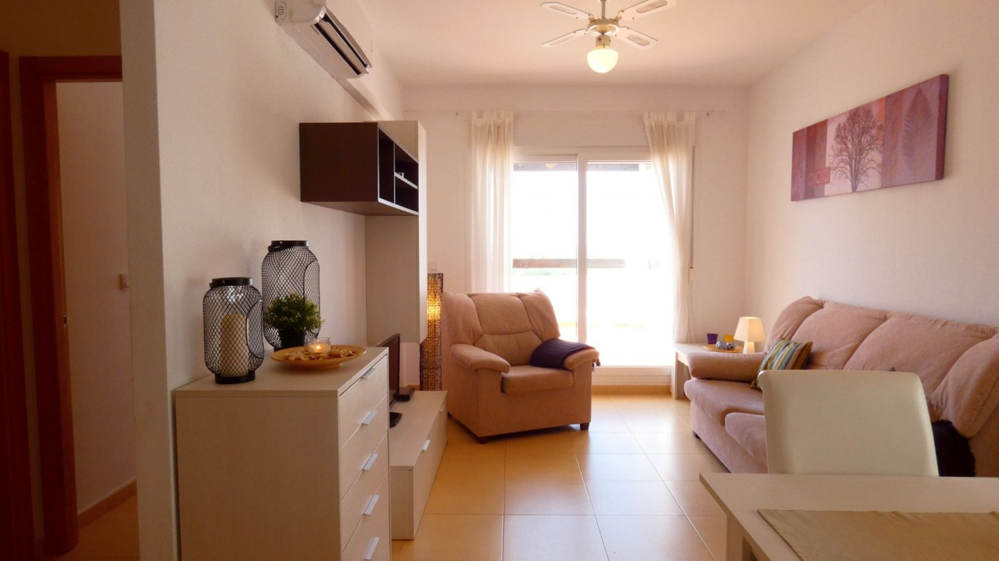 Gallery Image 2 of South-West facing Front line Golf Apartment overlooking the Fairway and Lake at Condado de Alhama