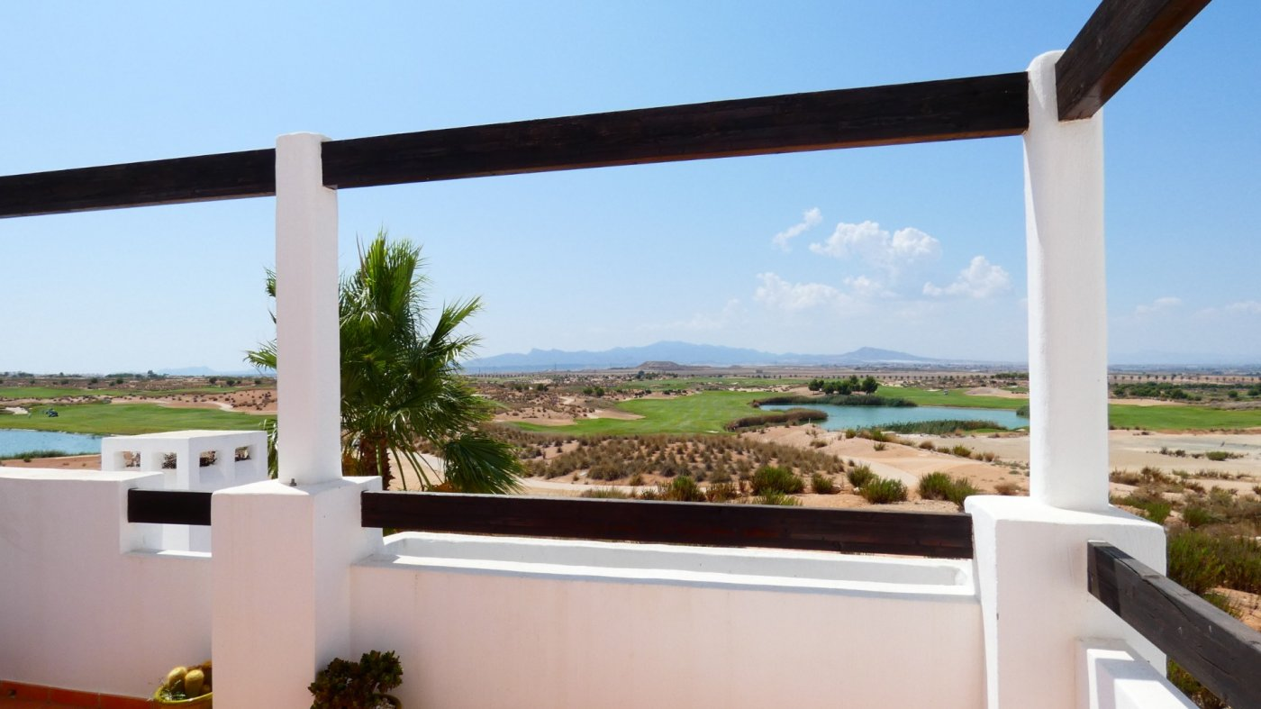 Gallery Image 3 of South-West facing Front line Golf Apartment overlooking the Fairway and Lake at Condado de Alhama