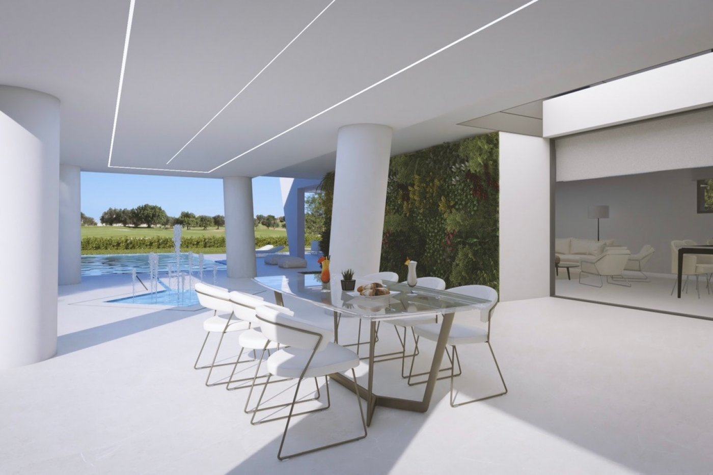 Gallery Image 1 of Exceptional luxurious large 5 bed front line golf villa