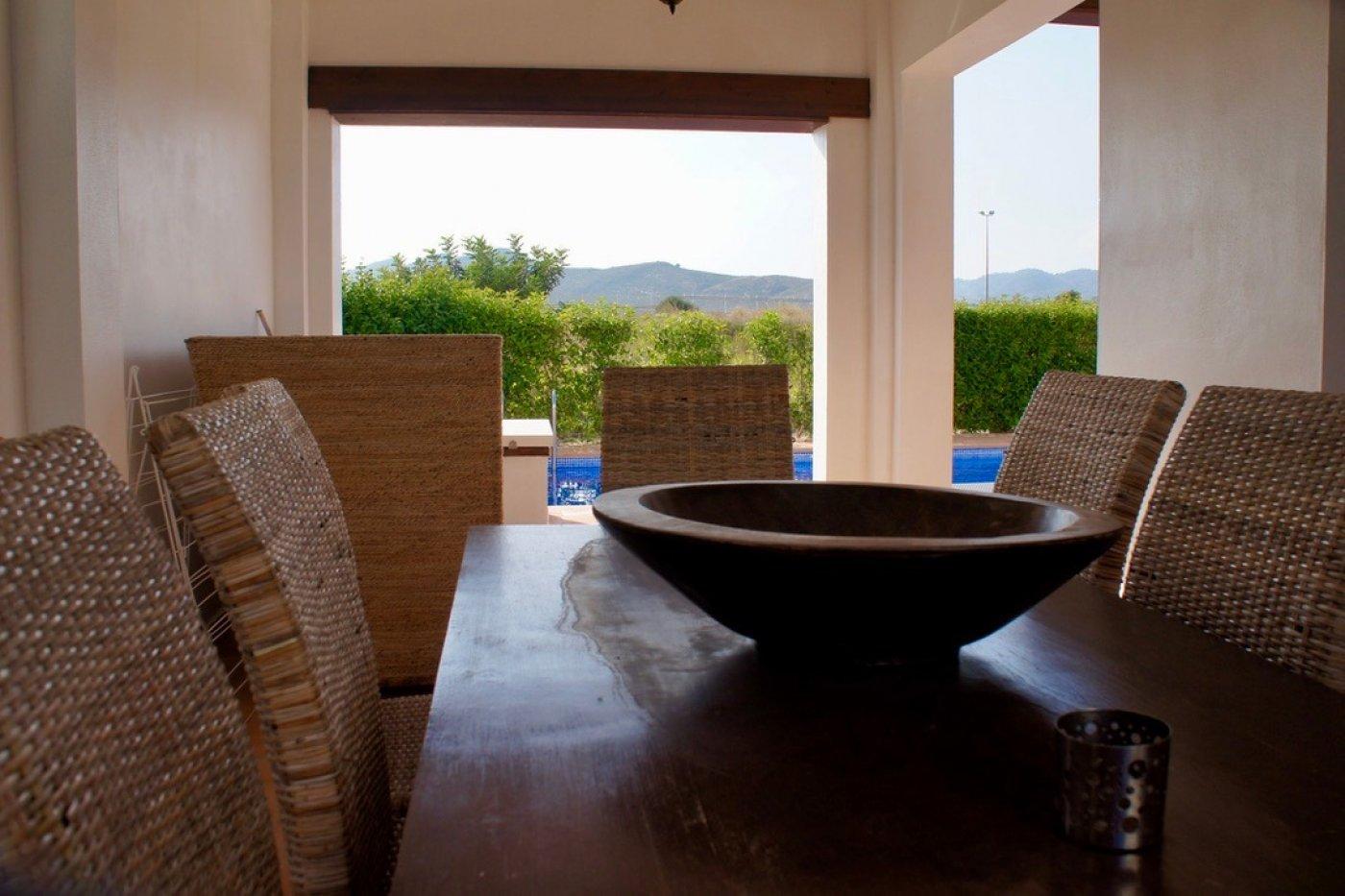 Galleribillede 27 of I første linie til golf banen, solrig 4 vær et plans villa med 2 badevær of egen pool