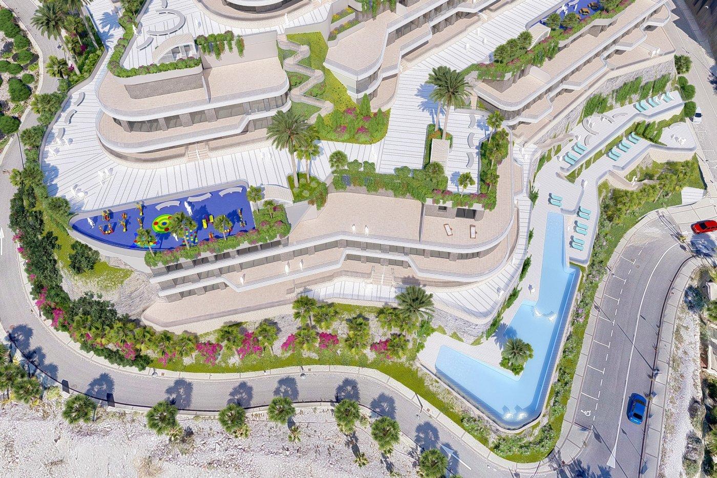 Galleribillede 10 of Exceptionel 2 etagers 4 vær luksus lejlighed, panorama udsigt, 58 m2 og 24 m2 solterrasser