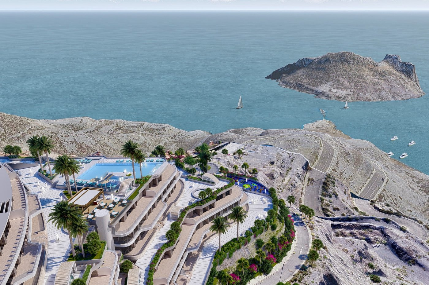 Gallery Image 11 of Phenomenal 2 story southwest facing 3 bed apartment with the most fantastic panorama views