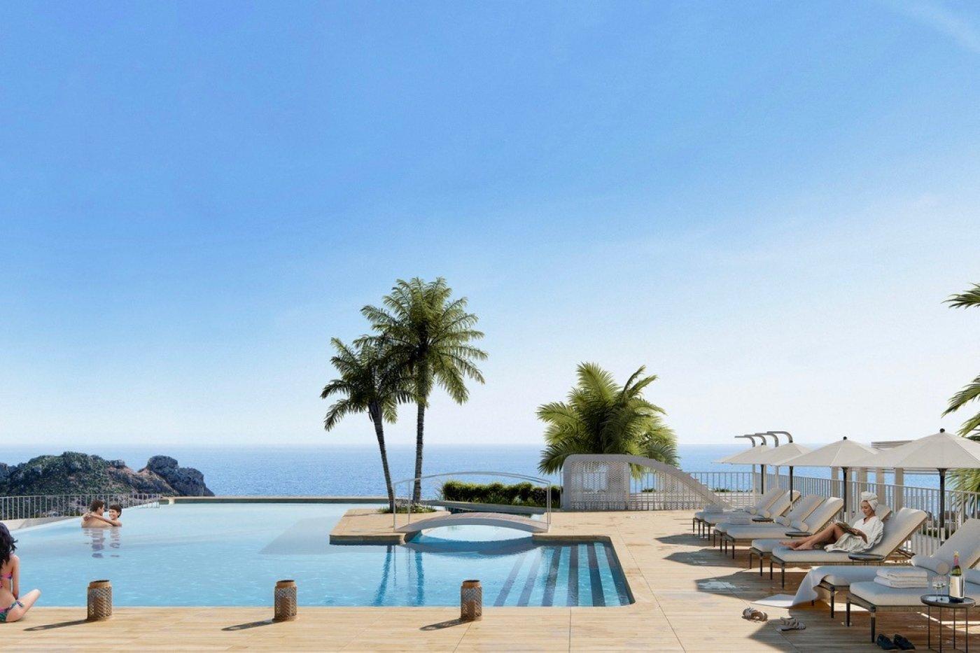 Galleribillede 13 of Exceptionel 2 etagers 4 vær luksus lejlighed, panorama udsigt, 58 m2 og 24 m2 solterrasser