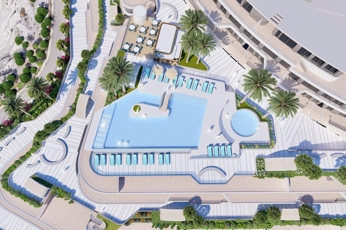 Galleribillede 20 of Exceptionel 2 etagers 4 vær luksus lejlighed, panorama udsigt, 58 m2 og 24 m2 solterrasser
