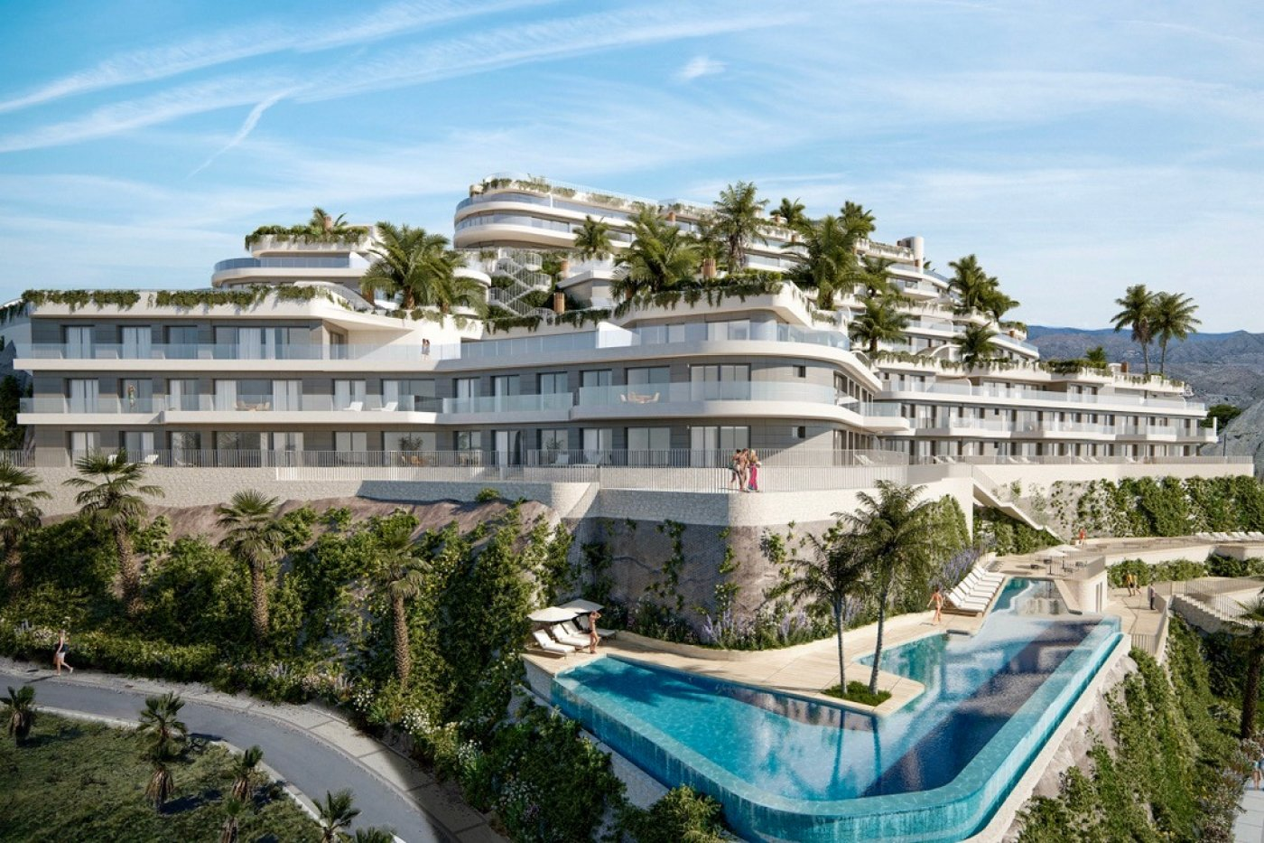 Gallery Image 2 of Phenomenal 2 story southwest facing 3 bed apartment with the most fantastic panorama views