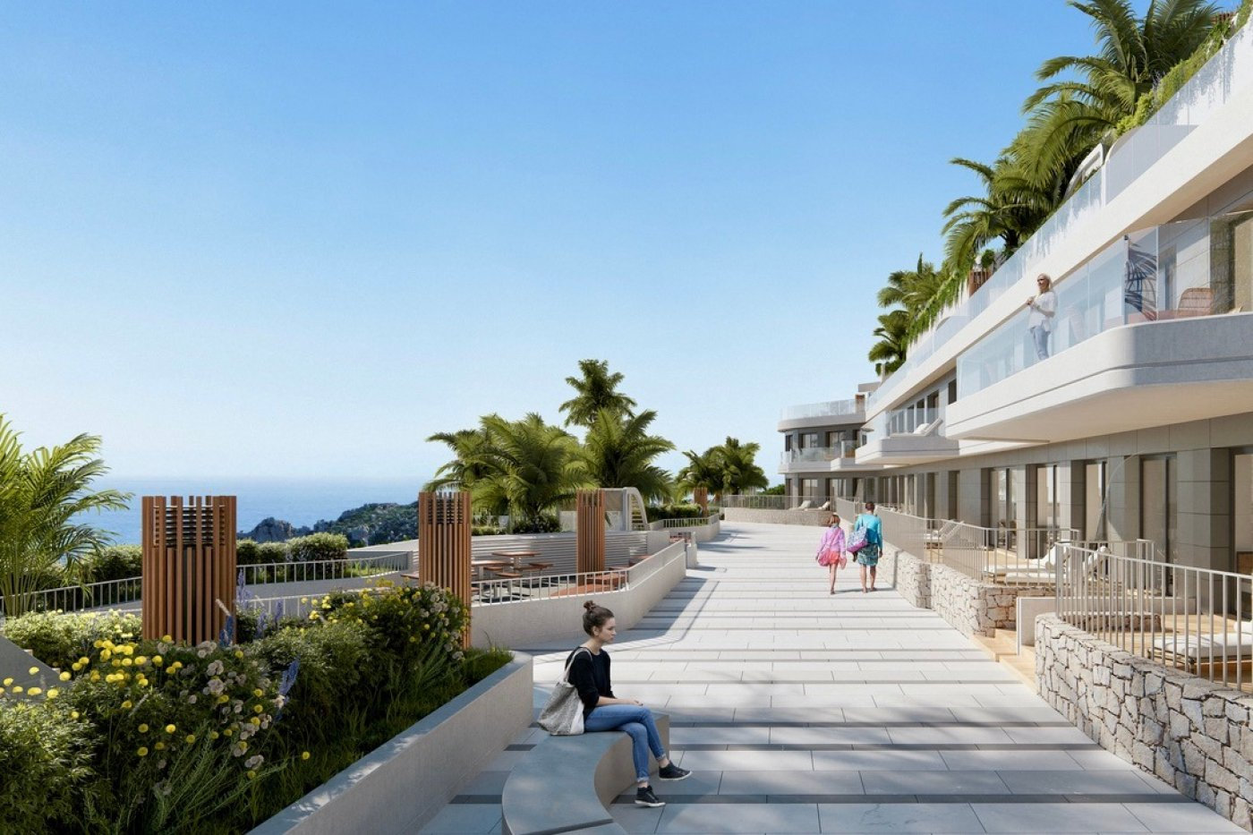 Gallery Image 8 of Phenomenal 2 story southwest facing 3 bed apartment with the most fantastic panorama views