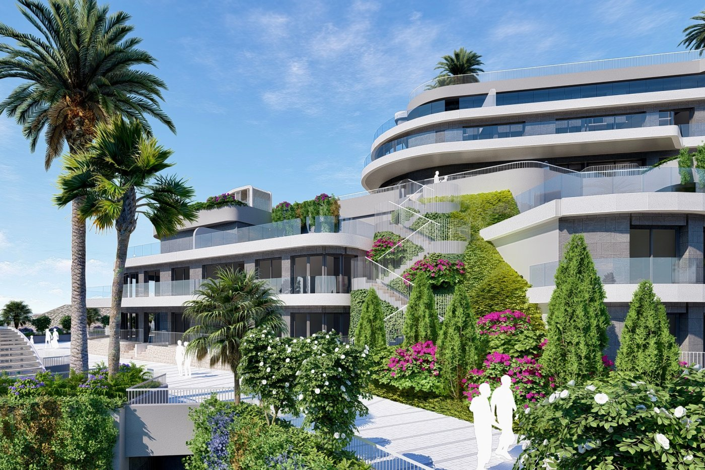 Gallery Image 11 of South-West facing luxury 2 bed apartment with panoramic sea views at amazing price