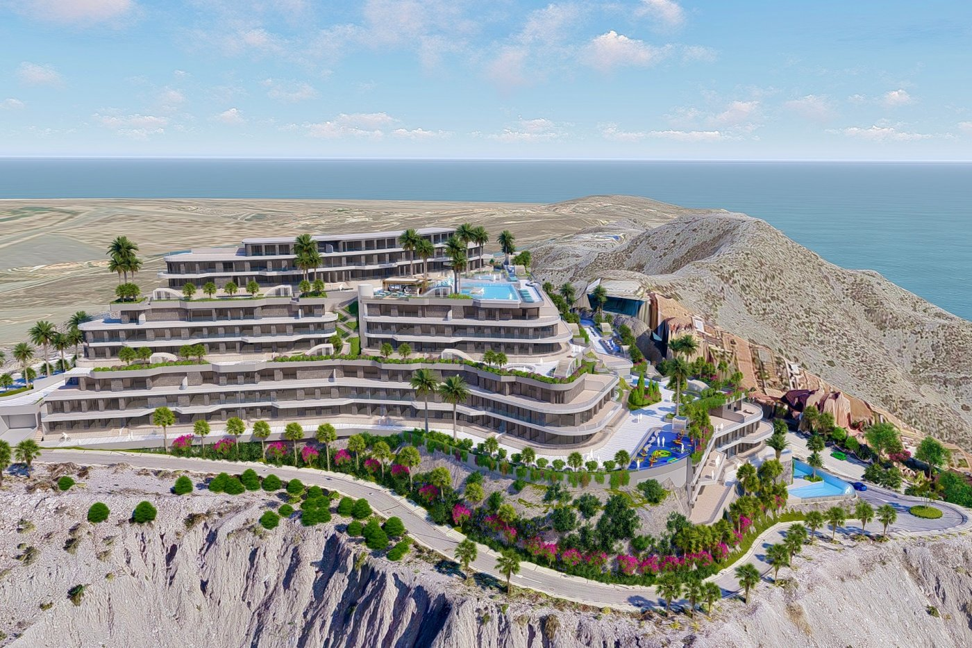 Gallery Image 16 of South-West facing luxury 2 bed apartment with panoramic sea views at amazing price