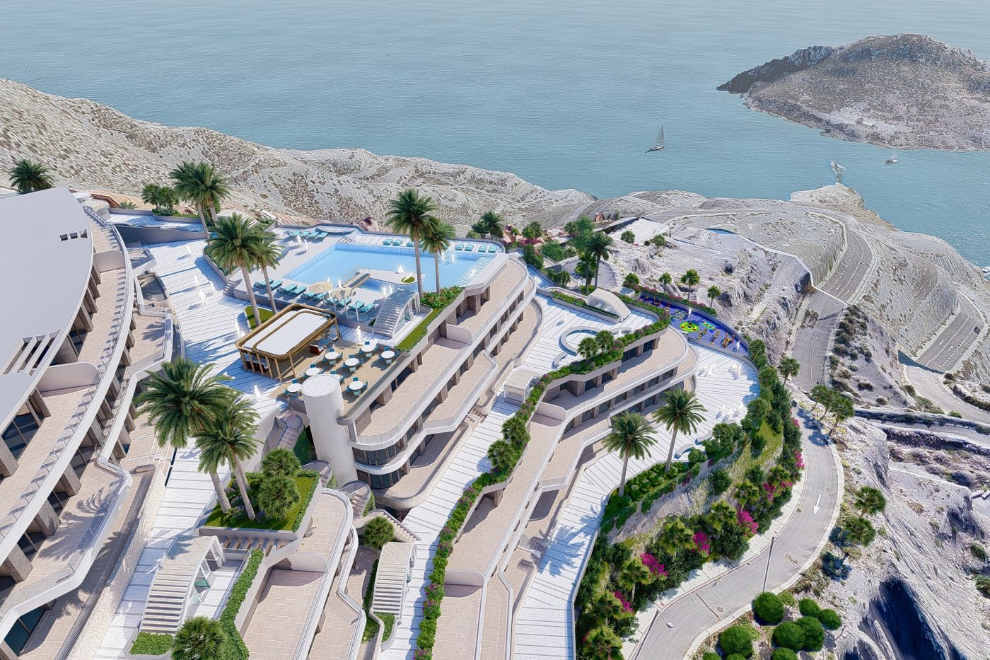 Gallery Image 18 of South-West facing luxury 2 bed apartment with panoramic sea views at amazing price