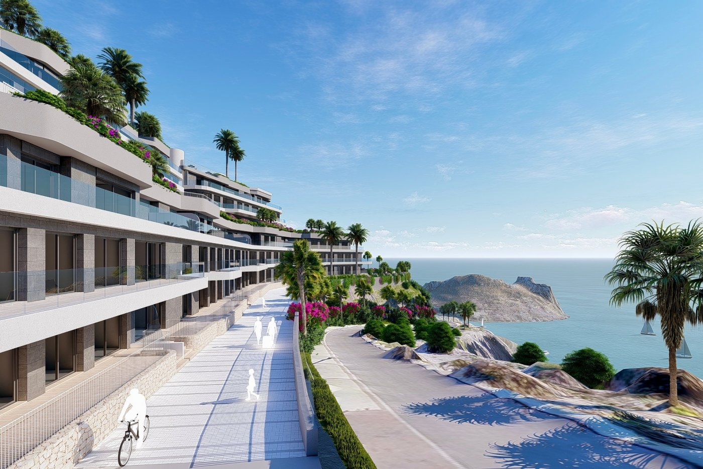 Gallery Image 8 of South-West facing luxury 2 bed apartment with panoramic sea views at amazing price