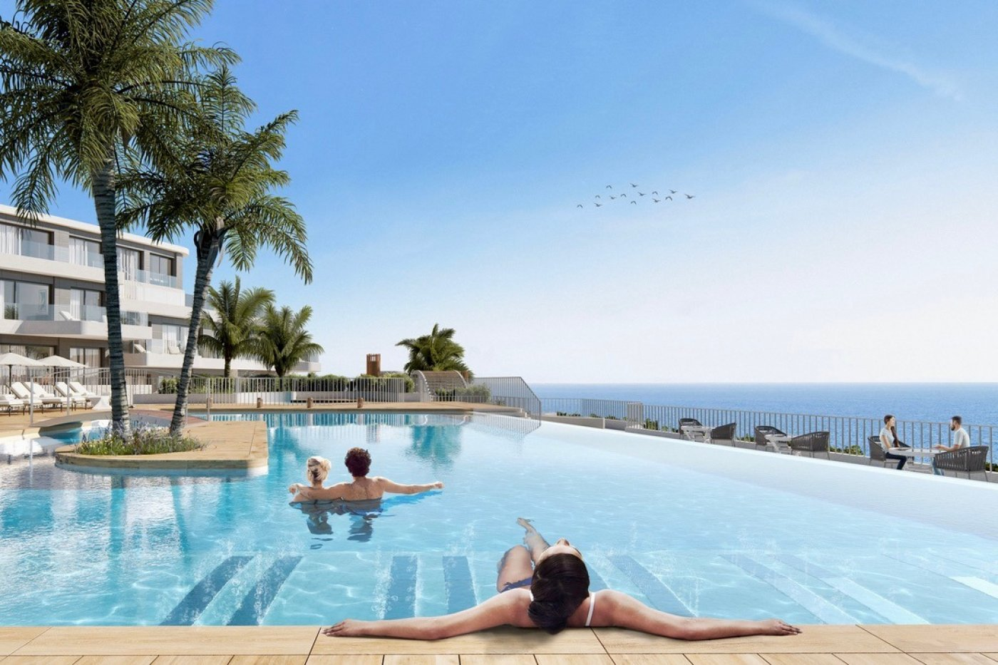 Galleribillede 11 of Uovertruffen panorama udsigt - 3 værelses luksus lejlighed med 2 badeværelser