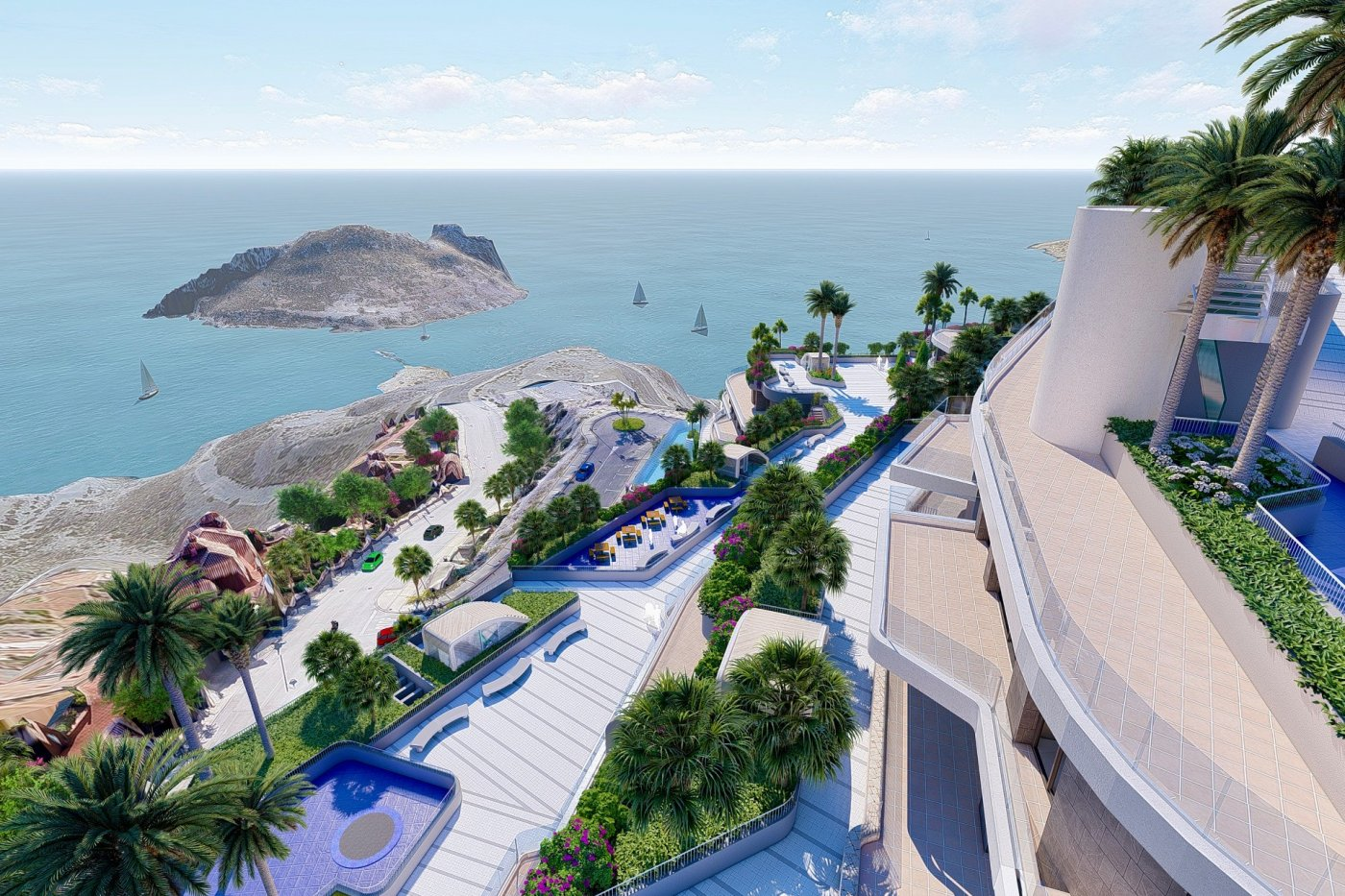 Gallery Image 18 of Luxury 1 bed penthouse with massive 59 m2 solarium and exceptional views