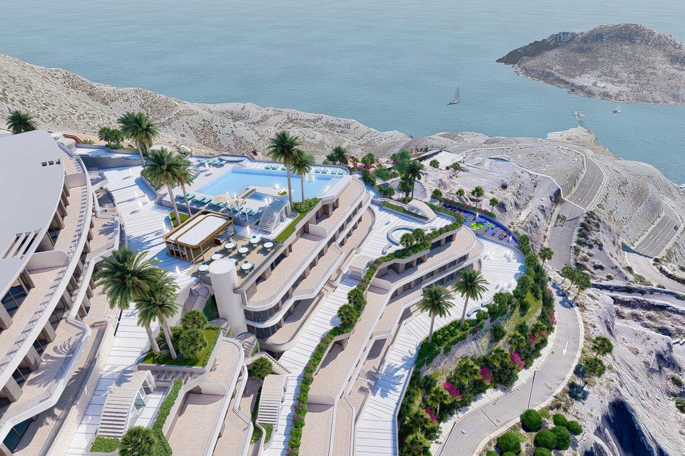 Galleribillede 2 of Vildt lækker 2 værelses luksus penthouse lejlighed med fantastisk udsigt og 59 m2 solterrasse