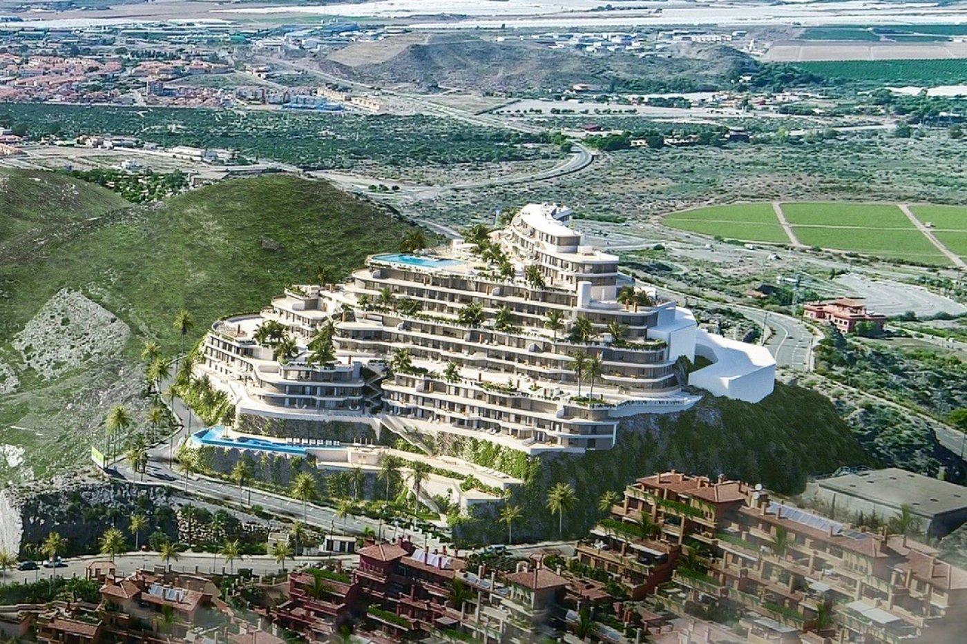 Galleribillede 4 of Vildt lækker 2 værelses luksus penthouse lejlighed med fantastisk udsigt og 59 m2 solterrasse
