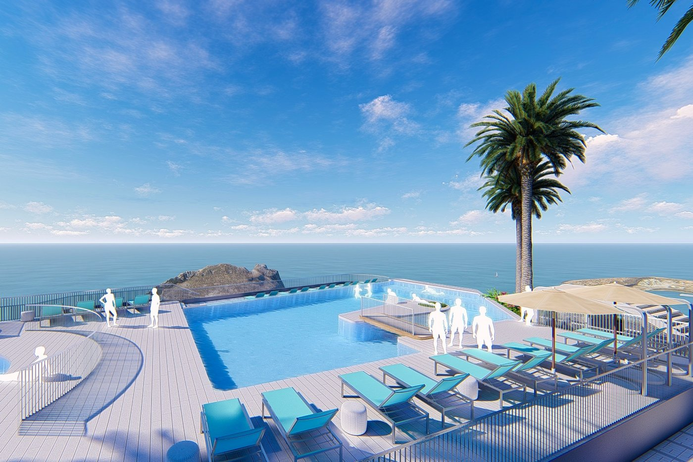 Gallery Image 12 of South-West facing luxury 2 bed apartment with panoramic sea views at amazing price