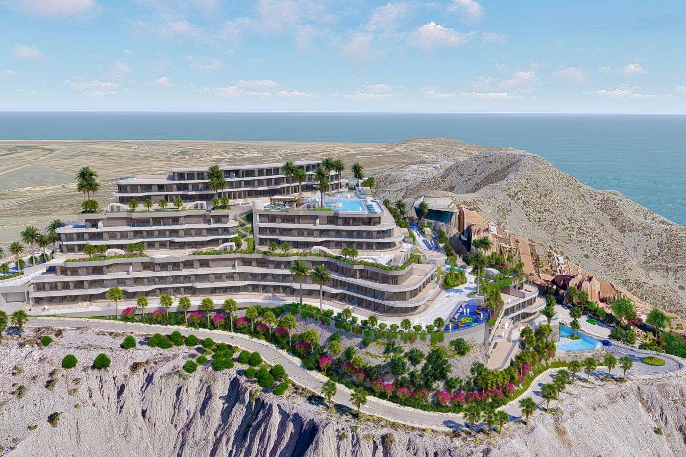 Galleribillede 2 of Lækker 3 vær luksus lejlighed med 2 badevær og panorama udsigt - sydvest vendt 20 m2 terrasse