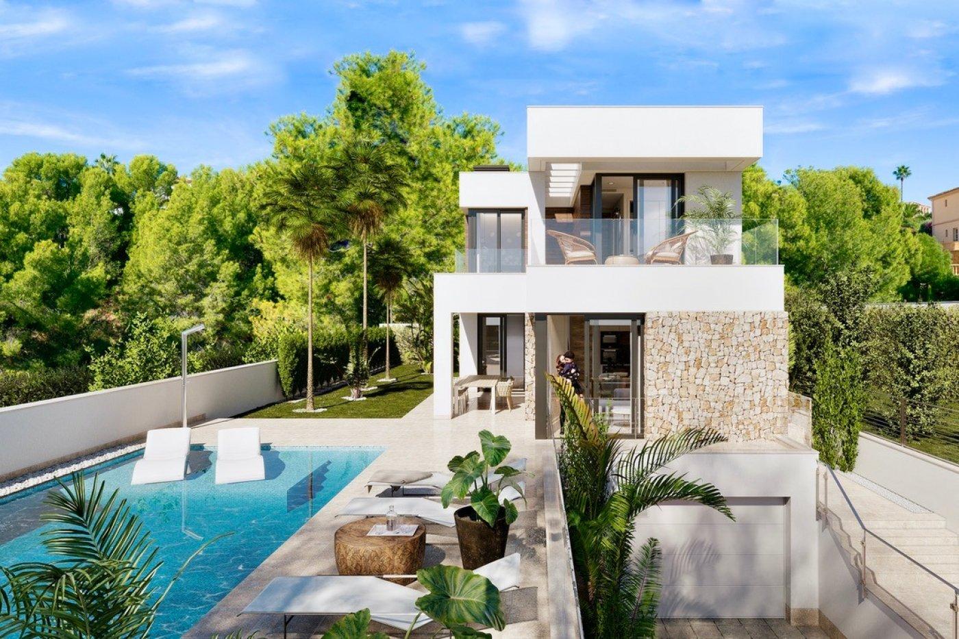 Galleribillede 10 of Luksus villa i Finestrat Hills m. udsigt over Benidorm, sydvest vendt - egen pool, kælder med garage