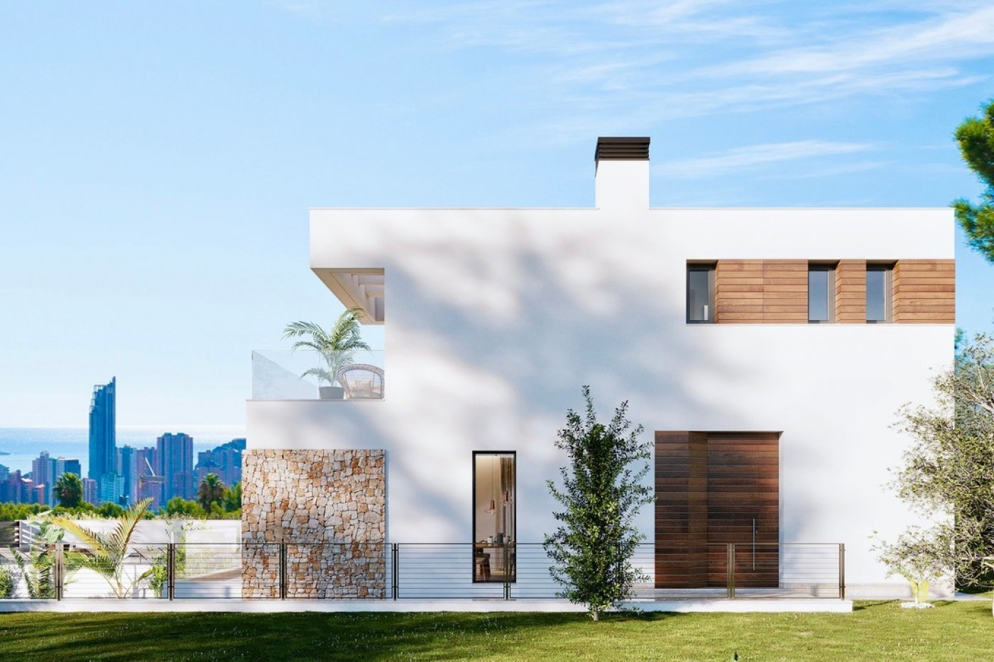 Gallery Image 12 of Luxury villa in Finestrat fantastic views over Benidorm, southwest facing - own pool, large basement