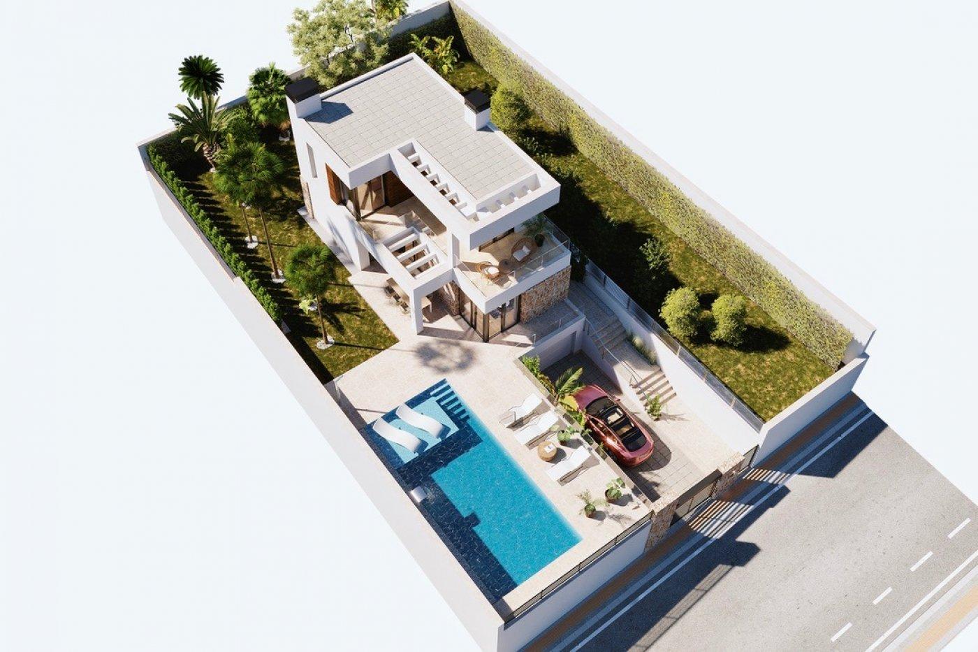 Galleribillede 15 of Luksus villa i Finestrat Hills m. udsigt over Benidorm, sydvest vendt - egen pool, kælder med garage