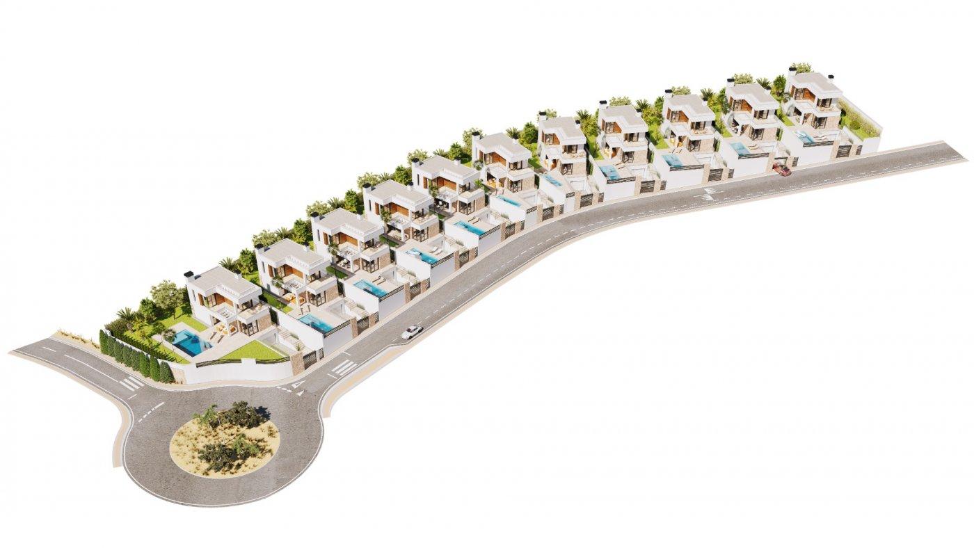 Galleribillede 16 of Luksus villa i Finestrat Hills m. udsigt over Benidorm, sydvest vendt - egen pool, kælder med garage