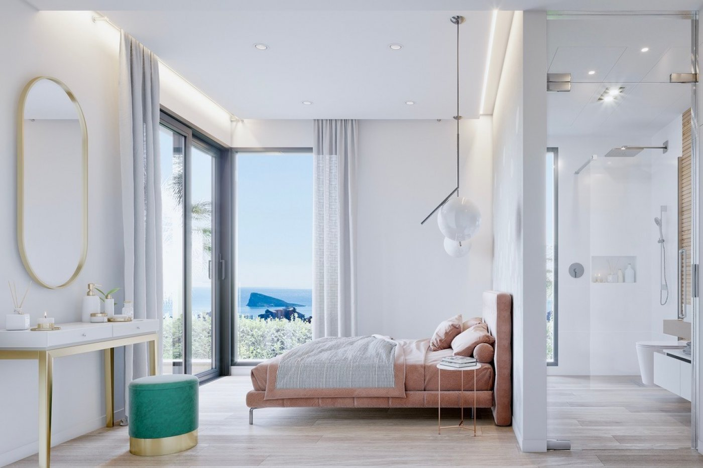 Gallery Image 7 of Luxury villa in Finestrat fantastic views over Benidorm, southwest facing - own pool, large basement