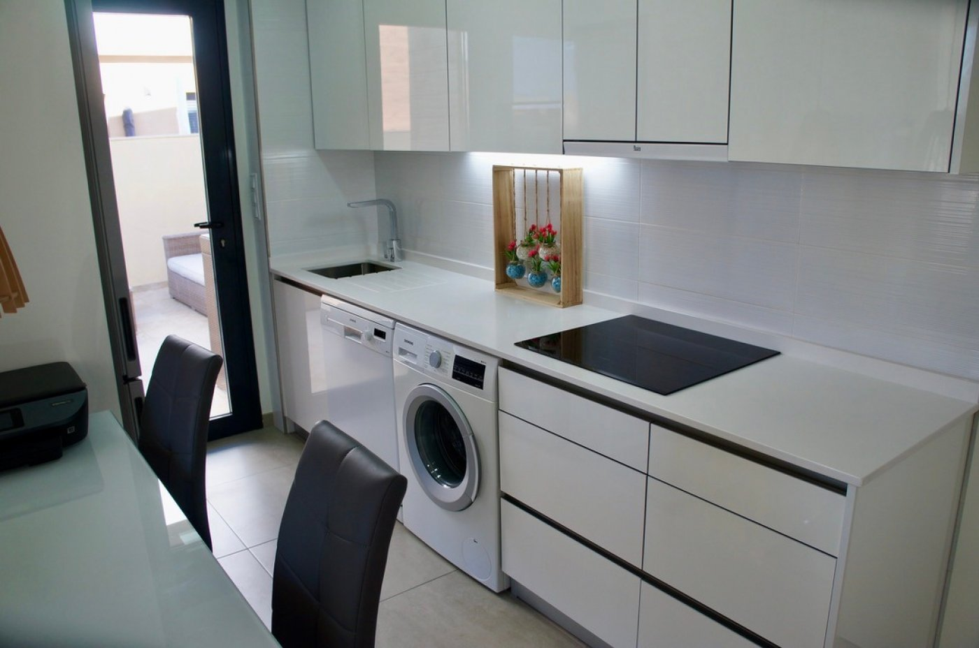 Gallery Image 2 of fantastic offer, 2 bed, 2 bath garden flat with private pool in Lo Pagan