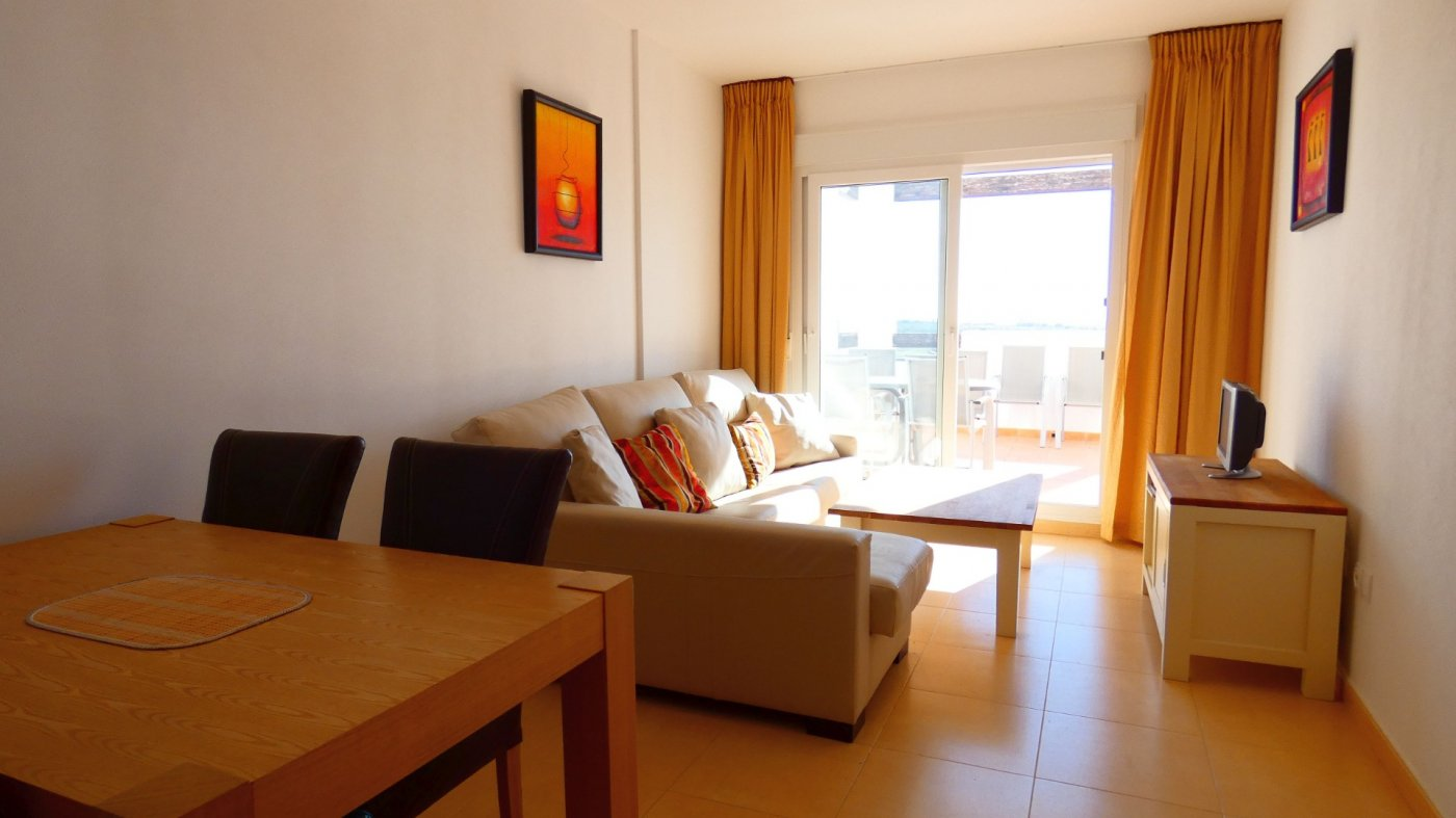 Gallery Image 1 of Sunny Front Line Golf 2 Bed Apartment Near the Club House at Condado de Alhama
