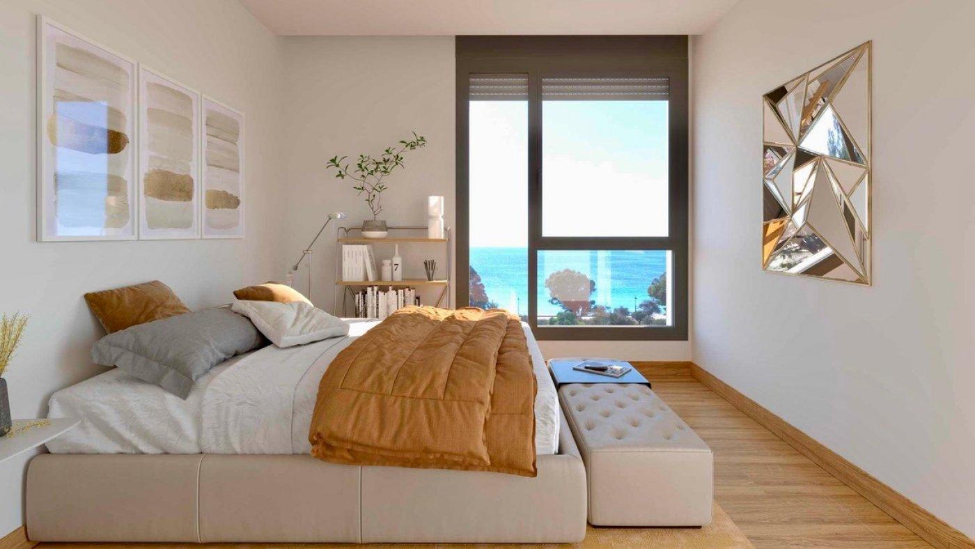 Galleribillede 6 of Kæmpe terrasse, havudsigt, 75 m fra stranden - 4 vær luksus lejlighed