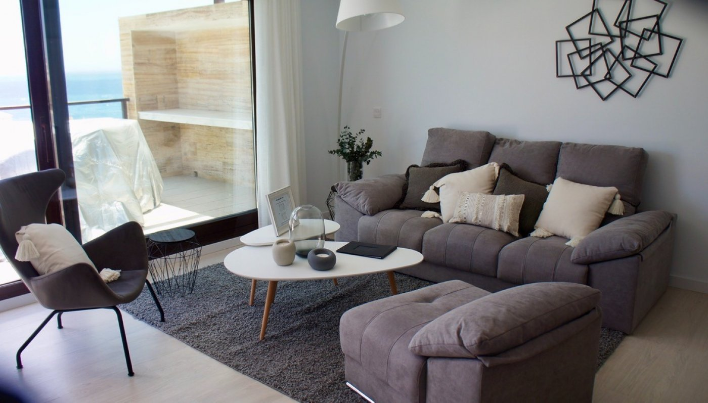 Galleribillede 2 of Smuk udsigt. 3 vær. lejlighed, 2 badevær., 28 m2 terrasse og kun 5 min gang fra strand