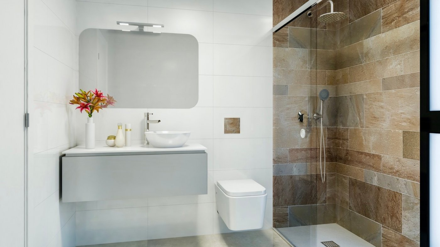 Galleribillede 10 of Luksus villa med egen pool, 3 badevær., kælder med garage og tagterrasse på La Finca Golf Resort