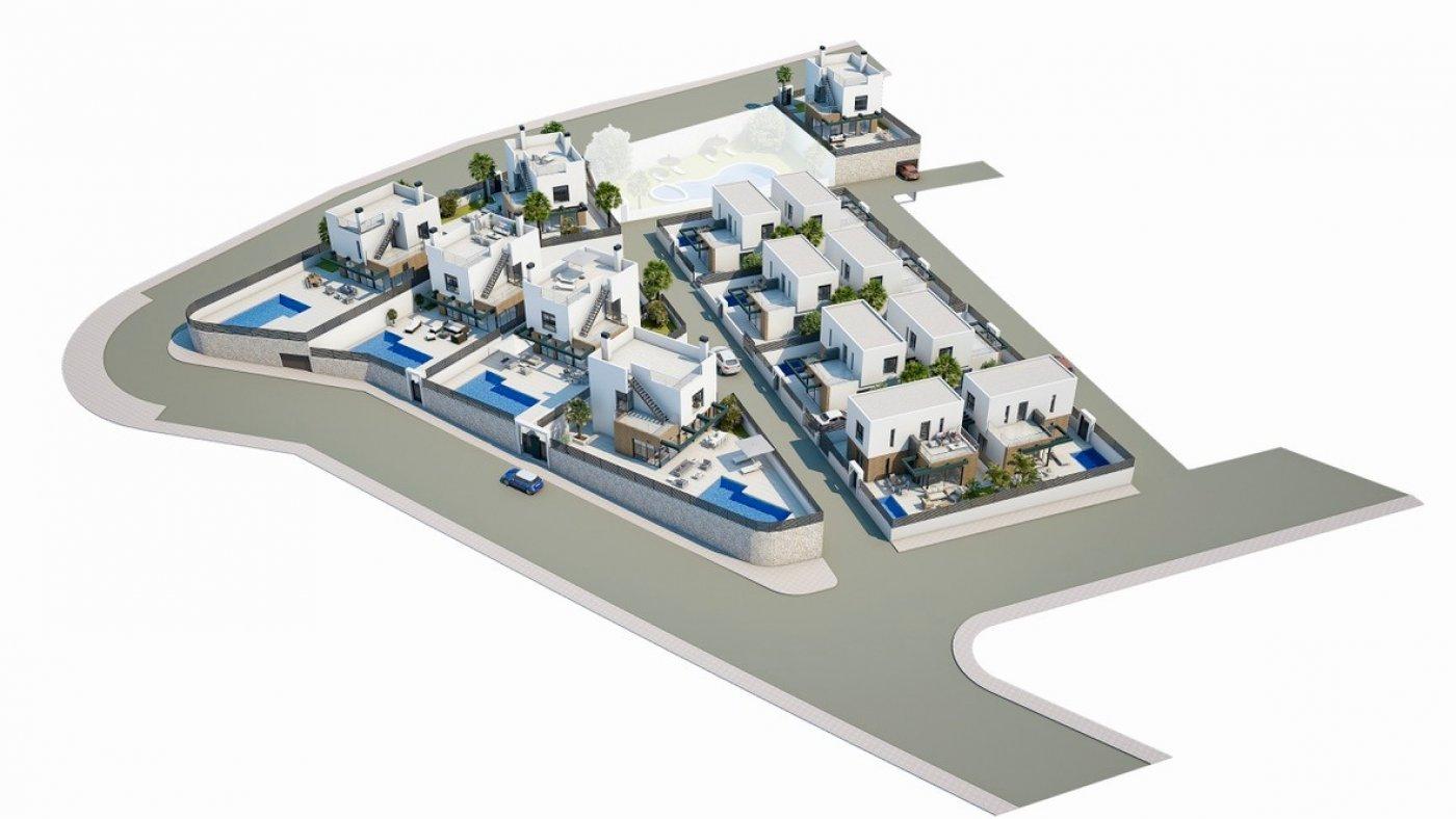Galleribillede 15 of Luksus villa med egen pool, 3 badevær., kælder med garage og tagterrasse på La Finca Golf Resort