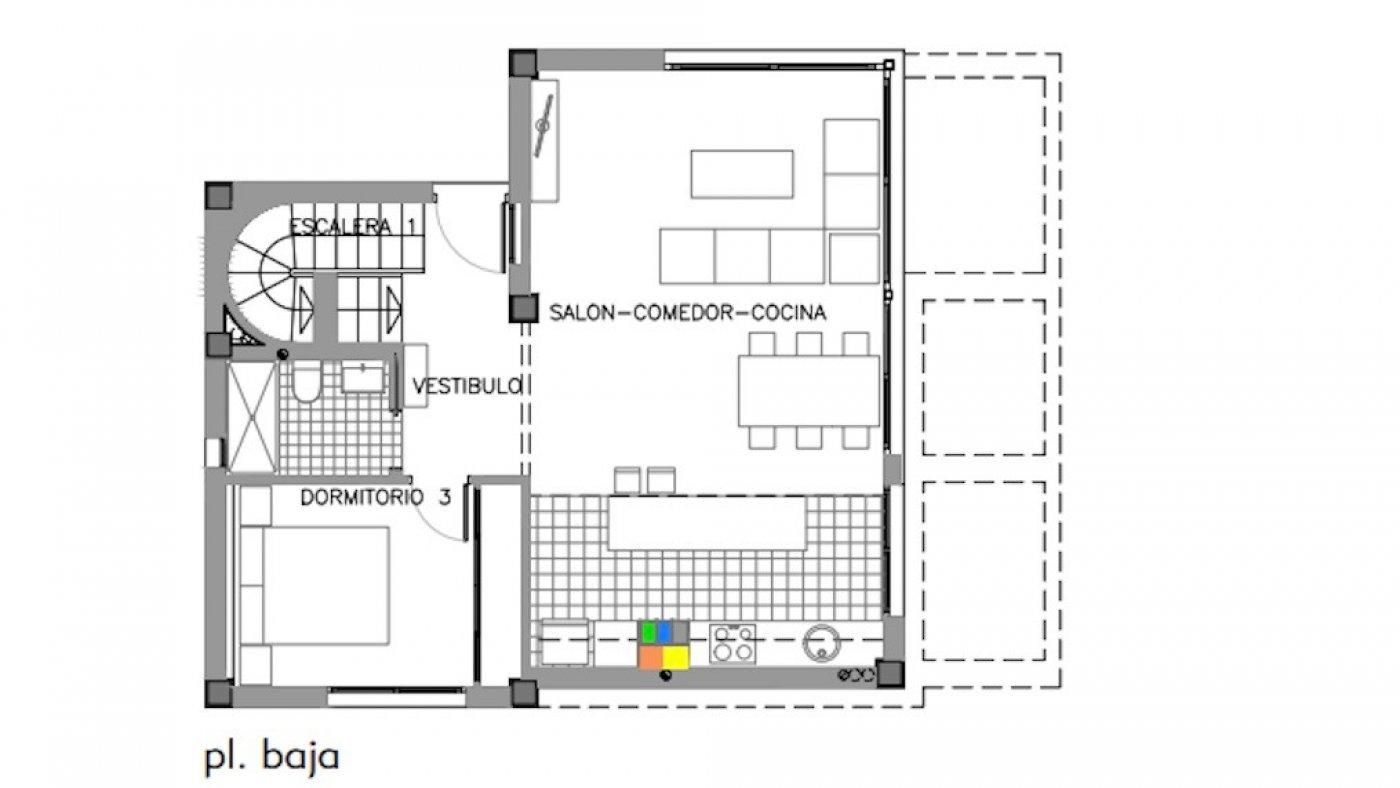 Galleribillede 19 of Luksus villa med egen pool, 3 badevær., kælder med garage og tagterrasse på La Finca Golf Resort
