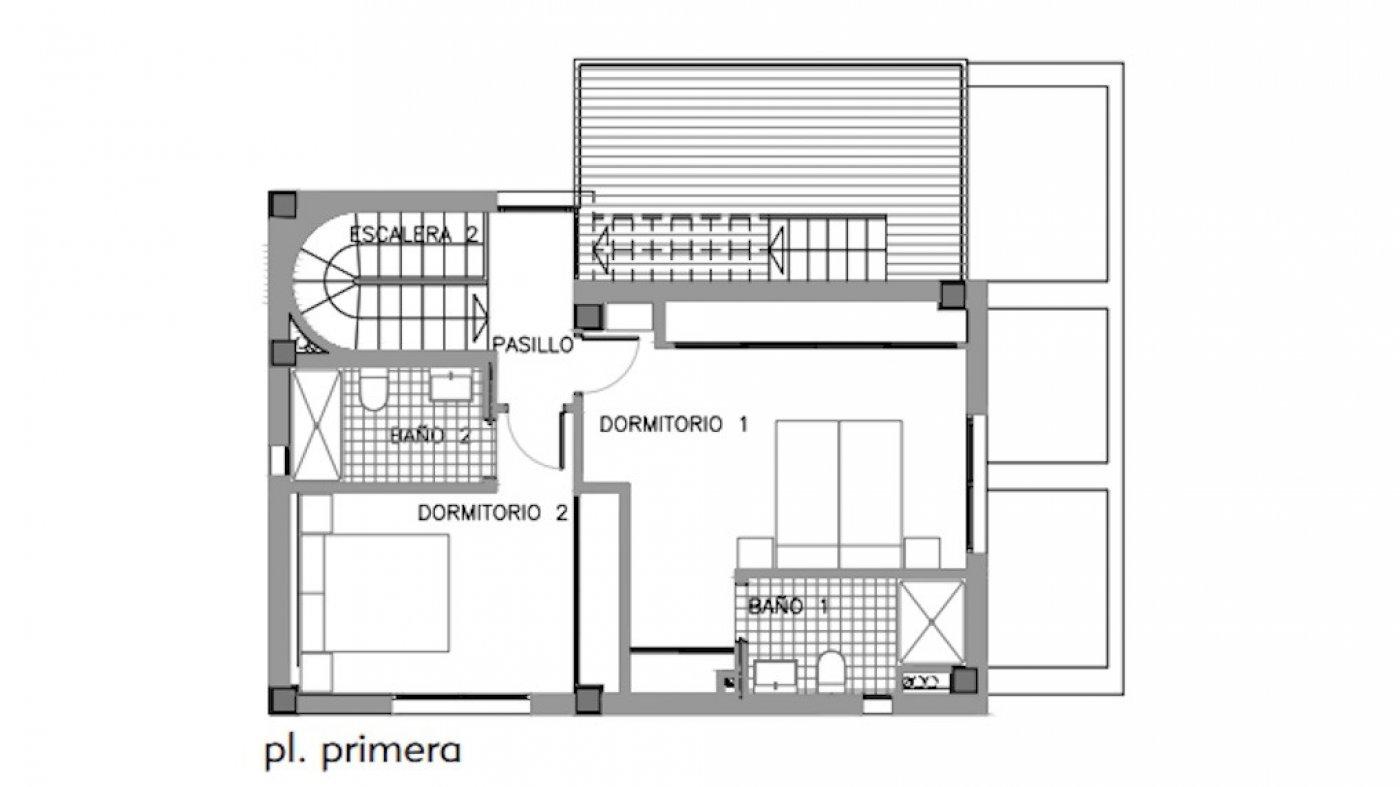 Galleribillede 20 of Luksus villa med egen pool, 3 badevær., kælder med garage og tagterrasse på La Finca Golf Resort